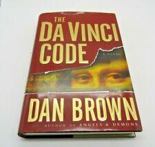Dan Brown The Da Vinci Code, 2003 First Edition, Hardcover Book w dust Jacket