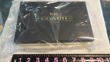 Brand new! Coach Box Program Signature Brown Zip Organizer