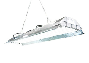T5 HO Grow Light - 4 FT 8 Lamps - DL848S Fluorescent Hydroponic Indoor Fixture