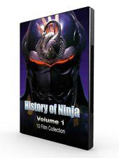 History of Ninja Collection - Volume 1 - 10 Ninja films - RARE DVD!