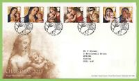 G.B. 2013 Christmas set on Royal Mail First Day Cover, Bethlehem