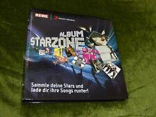 Sammelalbum Album Starzone REWE / Sony Music, vollständig, alle Karten dabei