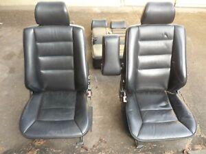 Mercedes W124 Leder-Ausstattung Sitze Sitzgruppe