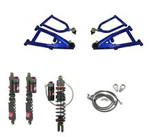 LSR Lone Star DC Pro Long Travel A-Arms Elka Stage 5 Front Rear Shocks Banshee