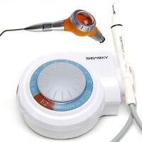 Ablatore Ultrasuoni Piezo Dentista EMS Woodpecker & Bicarbonatore Air-prophy CS