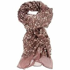 Rose and Rose Silk Sequin Scarf-$210 MSRP