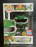 Pop! TV Mighty Morphin Power Rangers- Green Ranger Glow GITD #360 NYCC Funko Pop