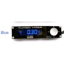 HKS Style Black Car Turbo Timer Blue LED Type 0 EVO STI WRX RX8 G35 Universal