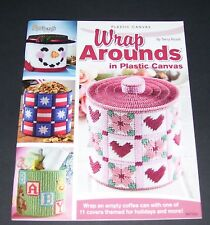 NEEDLECRAFT PLASTIC CANVAS PATTERN LEAFLET BOOK 2007 WRAP AROUNDS 847526