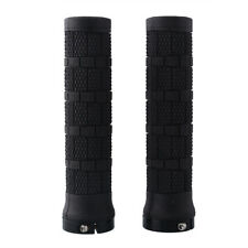 2X 1 Pair Rubber Handlebar Lock-on Grips Road Mountain Bicycle MTB New
