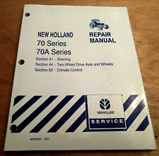 Ford New Holland 8670 8770A 8870 8870A 8870A 8970 8970A Steer Axle Repair Manual