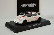 KYOSHO ~ Alfa Romeo TZ3 Corsa (White)  ~ 1/64 Scale Minicar Collection 4