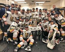 2017-18 VEGAS GOLDEN KNIGHTS 8X10 TEAM PHOTO HOCKEY PICTURE NHL