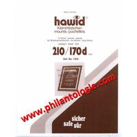 Bandes Hawid double soudure 210 x 170 mm pour blocs de timbres.