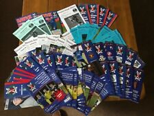 More details for 2012-2019 hawick royal albert, 69 programmes, all different