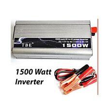 INVERTER 1500W WATT 12V 220V TRASFORMATORE AUTO CAMPEGGI BARCA PC PRESA USB SG