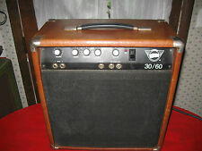 "Vintage 1970's Pignose 30/60 Guitar Amplifier 30 Watts 12"" Eminence Speaker"