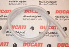 "Clear mesh reinforced thick wall 3/8"" ID X 9/16"" OD X 36"" LONG fuel gas line USA"