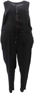 View Walter Baker Petite Slvless Jumpsuit Black 24P # A263075