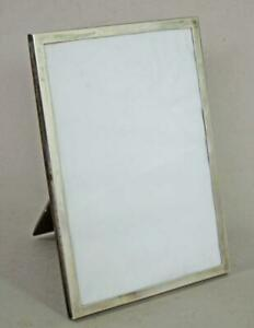 LARGE ANTIQUE STERLING SILVER PICTURE PHOTO FRAME BIRMINGHAM 1913
