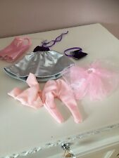 Doll Clothes With Wardrobe shoes