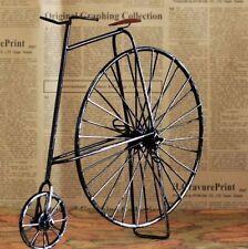 Retro Vintage Black Bike Bicycle Model Home Decor Table Decoration Ornament Toy