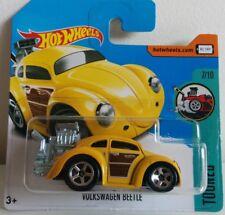 HOT WHEELS VW Beetle finestra ovale-Giallo su carta a breve