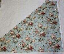"""Waverly Fabric """"Emma's Garden""""  Triangle Shaped Remnant"""