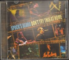 SPOCK'S BEARD Don't Try This at Home CD 6 track LIVE 013 Tilburg HOLLAND