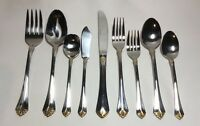 Towle Santa Barbara Gold Stainless Steel Flatware Choice By The Piece