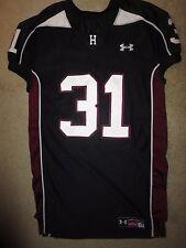 Hamilton Huskies High School Football Game Worn Under Armour Jersey XL
