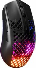SteelSeries - Aerox 3 Wireless Optical Mouse Gaming Mouse - Black