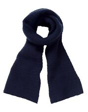 837363647dd Pure Collection Navy Cashmere Scarf rrp £99 TD078 DD 09