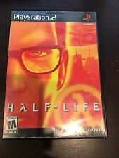 Half-Life (Sony PlayStation 2, 2001) GAME, CASE & MANUAL