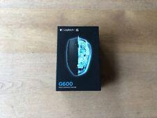 Logitech G600 Optische MMO-Gaming-Maus schnurgebunden schwarz