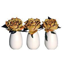 Vickerman AZF11018 Rose Eggs Artificial Plant, Yellow
