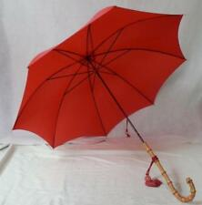 Vintage Fox Paragon Umbrella With F. D. Wailing Canopy And Bamboo Handle