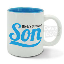 World's Greatest SON, best ever youngest, oldest son, funny mug cup, birthday