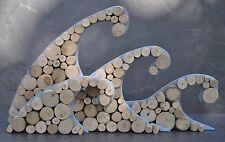 """Driftwood """"3D Wave's"""" Bathroom Shabby Chic """"10% SAS Donation"""" Beach Home Decor"""
