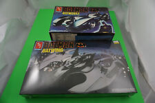 Ertl 1/25 kit Batman Batwing New Sealed AND Batmobile in box complete NICE