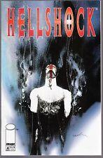 HELLSHOCK Variant Cover Issue #4 November 1994