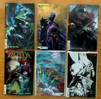 DARK NIGHTS DEATH METAL 5 1:100 CAPULLO, 1:25, Main + Finch, Lau, Parillo  NM/MT