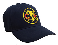 Club America Football Hat Aguilas del America soccer patch Blue Ball Cap