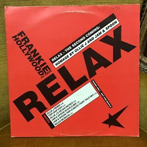 """2 X 45 RPM Tours 12"""" Frankie Goes To Hollywood – Relax - The Second Coming Labe"""