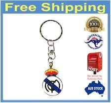 Real Madrid FC Metal Logo Keyring Keychain gift football soccer La Liga