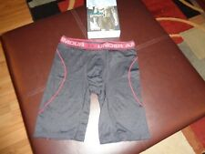 NWT New Mens Under Armour Iso Chill Cooling Boxer Jock. Black Size Small. UA