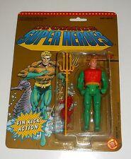 VINTAGE 1990 DC COMICS SUPER HEROES ~ AQUAMAN ~ Nuovissimo Stock Vecchio Negozio ~ MOC