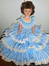 "PRETTY EEGEE DOLL 29"" TALL WITH BEAUTIFUL DRESS"