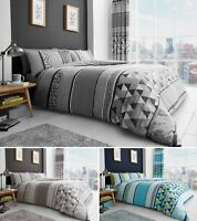 Madison Duvet Quilt Cover Bedding Set Single Double King With Pillowcase