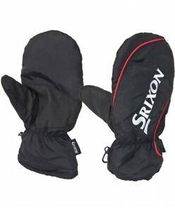 Srixon Golf Winter Mittens Black/Red - New 2021